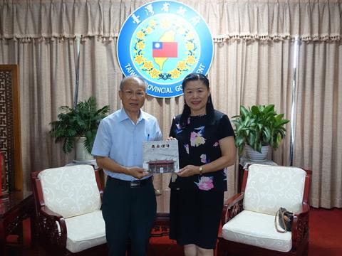 台湾省政府林政则主席重视闽南文化的推广