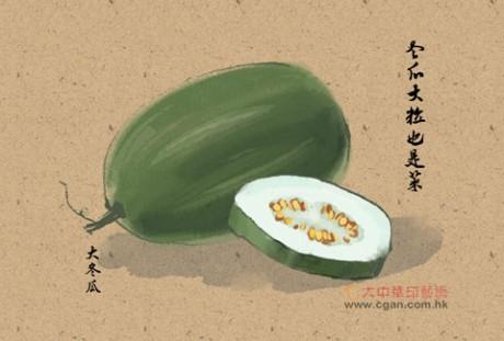 冬瓜大粒也是菜