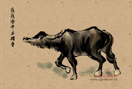 瘦瘦水牛三担骨